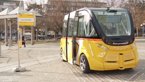 Postauto Smartshuttle (Herstellervideo)