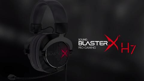 Creative zeigt das Sound BlasterX H7 mit 7.1-Klang