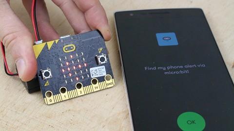 BBC Microbit ausprobiert
