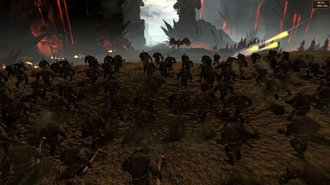 Integrierter Benchmark von Total War Warhammer