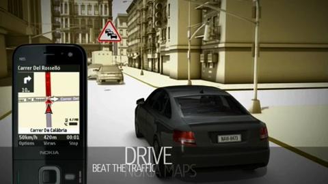 Nokia N97 - Trailer Maps