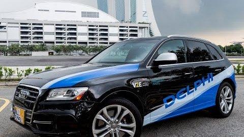 Autonome Taxis in Singapur - Delphi