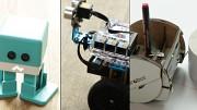 Lernen mit drei Robotern ausprobiert
