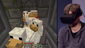 Minecraft VR ist fertig - Trailer