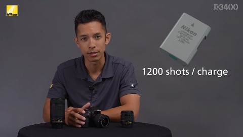 Nikon D3400 (Herstellervideo)