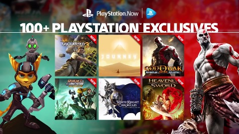 Playstation Now - Trailer (exklusive Spiele)