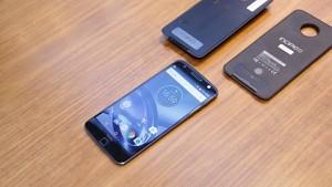 Lenovo Moto Z ausprobiert (Ifa 2016)