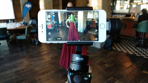 DJI Osmo Mobile - Hands on (Ifa 2016)
