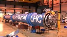 Reparatur von Dipol Magneten des LHC