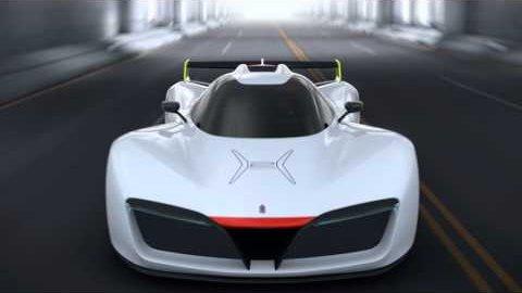 Brennstoffzellen-Bolide H2 Speed - Pininfarina