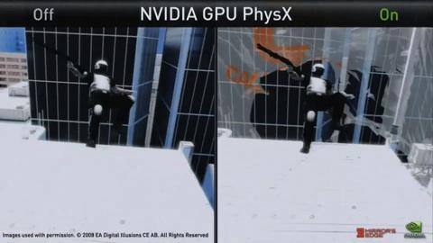 Mirror's Edge mit PhysX - ohne Zeitlupe