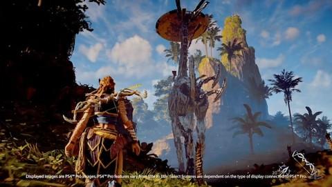 Horizon Zero Dawn - Demo auf der PS4 Pro