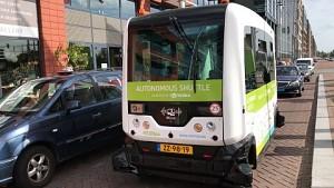Wepods autonomer Bus angesehen