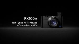 Sony RX100 V (Herstellervideo)