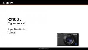 Sony RX100 Mark V - Zeitlupenfunktion (Herstellervideo)