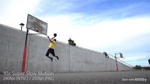 Sony RX100 Mark VI Superzeitlupe (Herstellervideo)