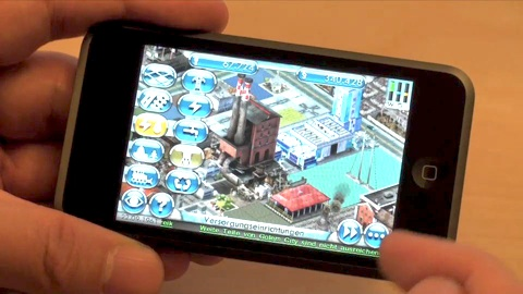 Sim City für iPhone und iPod Touch - Impressionen