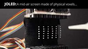 Schwebendes 3D-Display
