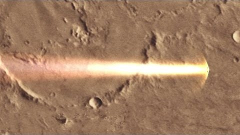 Schiaparellis Abstieg zum Mars - Esa