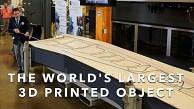 Das größte 3D-gedruckte Teil der Welt - DoE