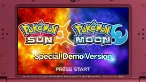 Pokemon Sonne und Mond - Trailer (Demo)
