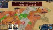 Civilization 6 - Multiplayer-Partie der Entwickler