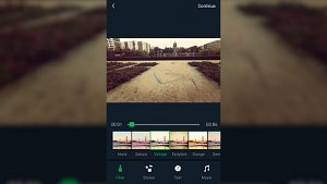 Schneiden und teilen (Yi-App)