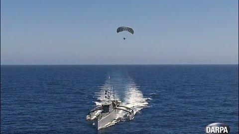 Testfahrt von Actuv mit Radar-Kite - Darpa
