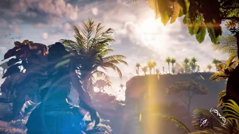 Horizon Zero Dawn auf der PS4 Pro - Gameplay