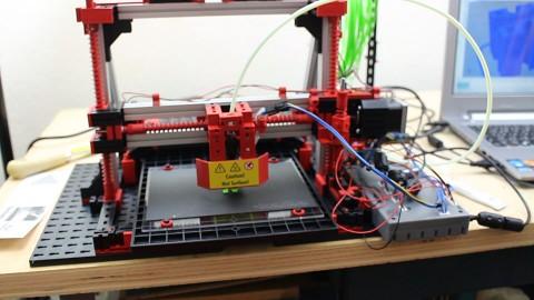 Fischertechnik 3D Printer - Test