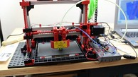 Fischertechnik 3D Printer - Test