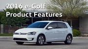 2016 VW e-Golf Features (Herstellervideo)