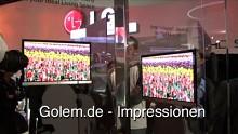LG auf der CES 2009 - Impressionen