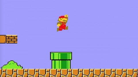 Super Mario Bros. (1985) - Golem retro_
