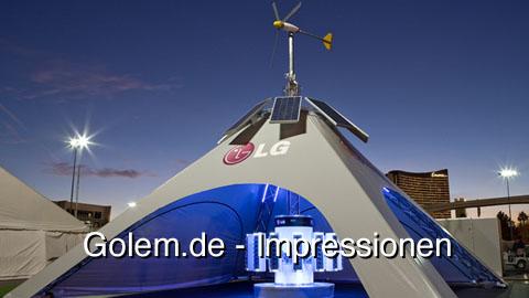 LG SkyCharger - Impressionen von der CES 2009
