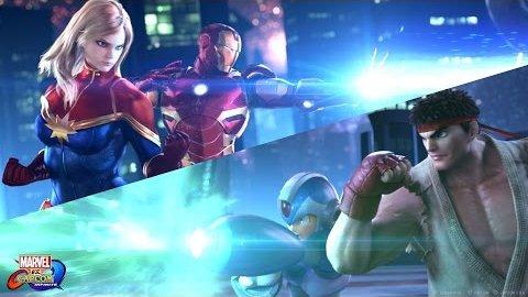 Marvel vs. Capcom - Infinite (PSX 2016, Teaser)