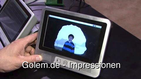 Touch Revolution NIMble - Impressionen von der CES 2009