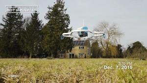 Amazon Prime Air im Einsatz (Herstellervideo)