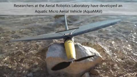 AquaMAV (Herstellervideo)