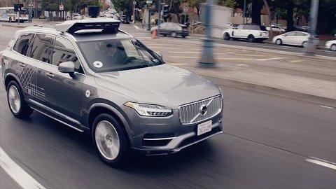 Selbstfahrende Autos in San Francisco - Uber