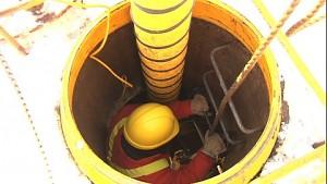 Bell-Canada-Techniker bei der Arbeit - Firmenvideo