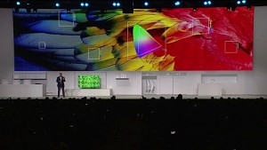Samsung stellt TVs mit QLED-Technik vor (CES 2017)