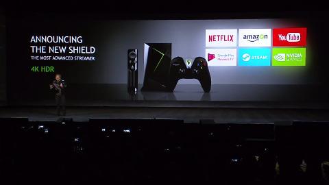 Nvidia stellt das neue Shield TV vor (CES 2017)