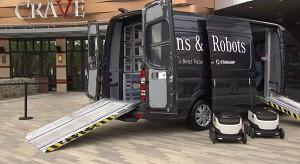 Mercedes Benz Vision Van auf der CES 2017