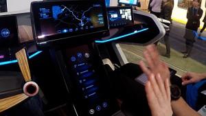 Bosch-Konzeptfahrzeug angesehen (CES 2017)