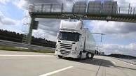 Lkw auf dem E-Highway - Siemens