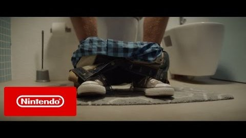 Nintendo Switch Werbespot (Toilette)