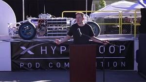 Elon Musk zur Hyperloop Pod Challenge - SpaceX