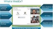 WebEx Tutorial (Herstellervideo)