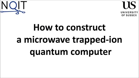 Blueprint for a microwave trapped ion quantum computer